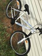 White Repco bike Norlane Geelong City Preview