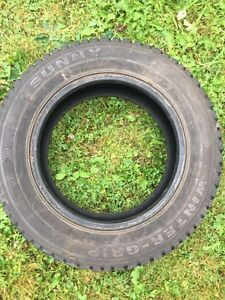 Winter grip tires
