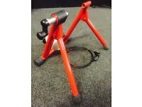 Exercise bike , resistance cycle trainer