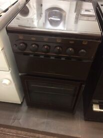Brown new world 50cm gas cooker grill & oven good condition with guarantee