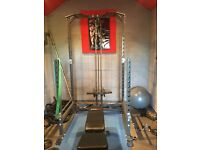 Power Rack/Squat Rack with cable attachment