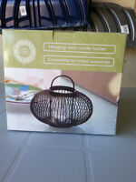 Wire Hanging Tea Lite Holder