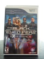WII game The black eyed peas experience