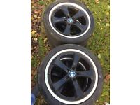 Set of four 19 inch alloy wheels