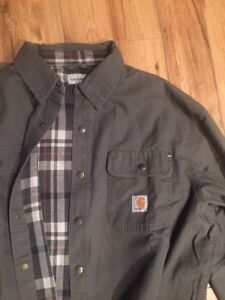 NEVER WORN XL Grey Carhartt Jacket