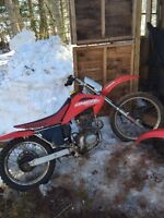 crf230 and xr200 parts bikes