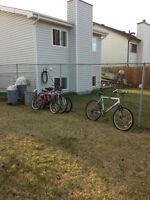 4 Mountain Bikes For Sale