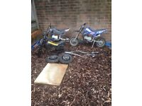 3 50cc Mini Dirt Bike projects