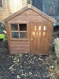 Kids Outdoor shed/playhouse