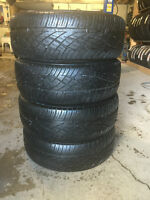 4-P255/60/18 Firestone Destination ST tires installed and no tax