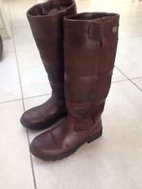 Shires Broadway Leather Waterproof Boots