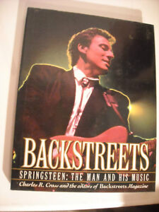 Backstreets - Springsteen The Man & His Music Hard Cover Book.