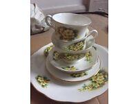 Vintage tea set x2