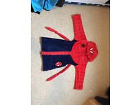 Spider-Man boys dressing gown 7-8 years