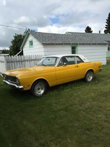 In Peace River, 1968 Ford Falcon Sport Coupe