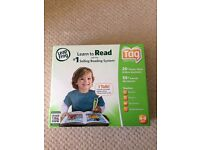 Brand new, boxed Leap Frog reading system