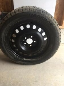 Winter tires with rim for sale!  London Ontario image 1