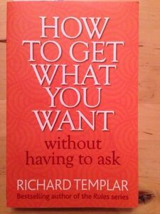 How to get what you want without having to ask Richard Templar Gatineau Ottawa / Gatineau Area image 1