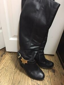 Aldo leather womens boots