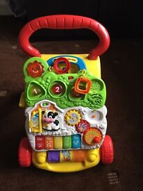 TOY. V TECH first steps baby walker!!!