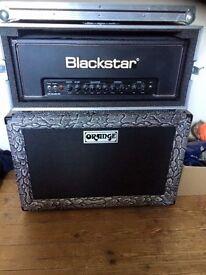 Blackstar HT-Club 50 head & Orange 2x12 Closed Back £599