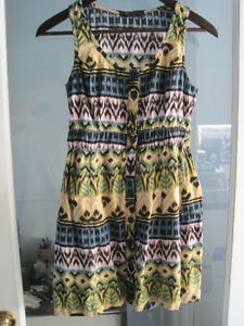 Full Button Front Summer Dress by Forever 21 - Size Medium