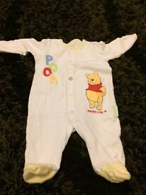 Baby sleepsuits (unisex)