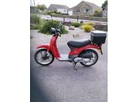 1999 Honda 50cc Moped SGX50 low mileage, excellent condition , only £450