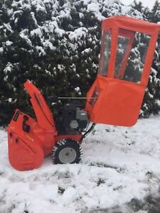 Souffleur a neige ariens 4200cc 21 forces 2012 avec cabine