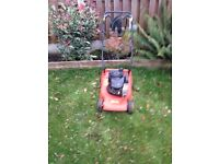 Flymo petrol lawnmower for sale