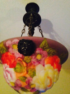ANTIQUE FLORAL PUFFY LIGHT Cambridge Kitchener Area image 1