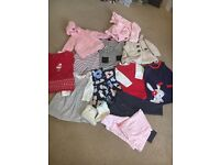 Large Bundle Baby Girls Clothes (6-9 Months)