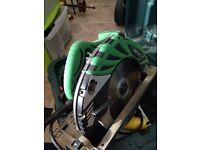 Large hitachi circular saw 110v