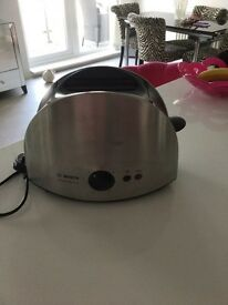 Bosch Brushed Chrome Toaster