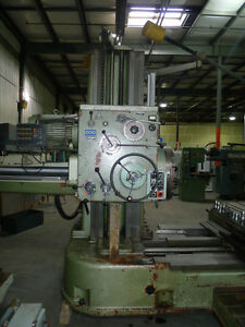 ALÉSEUSE TOS W100 HORIZONTALE TABLE TYPE BORING MILL