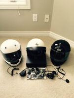 Motorcycle Helmets and Intercom