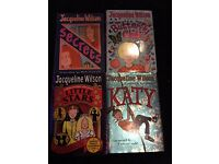4 hardback Jacqueline Wilson books