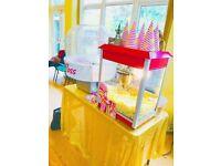 🎈 Popcorn Cart Hire - Candy Floss Machine Hire - Slush machine Hire- Candy cart!