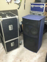 Band Sound System with Lights (Turbo Sound)