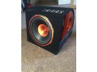 """Edge 12"""" 900w car subwoofer amplifier (sub amp stereo active bass box)"""