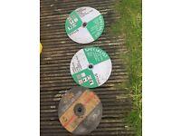 3 metal cut grander discs
