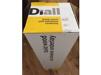Diall solid wood underlay - self adhesive