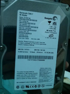 40 gb computer hardive internal moving sale any $ acpted