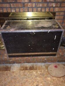 Antique plumbers work box