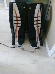 jambieres vaughn V6 custom pro 34+2 superbe condition 550$ négo