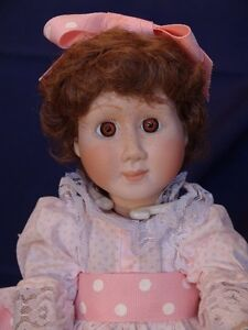 Meggan's Collectors Canadian Procelain Handmade Doll Partytime London Ontario image 1