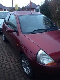 Ford Ka 1.3 2003 - MOT 2017. Project/spares repairs