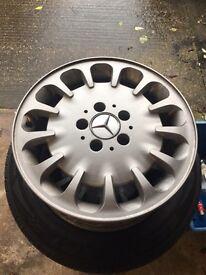 E class alloy wheels