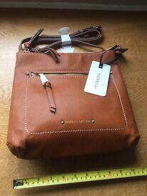 Fiorelli leather tan handbag
