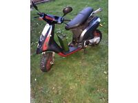 Piaggio typhoon for spares £200ono no engine